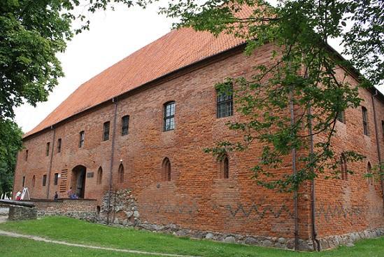 Castle of the Teutonic Order in Ostroda / Zamek krzyżacki w Ostródzie