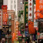 Chinatown in New York, Manhattan