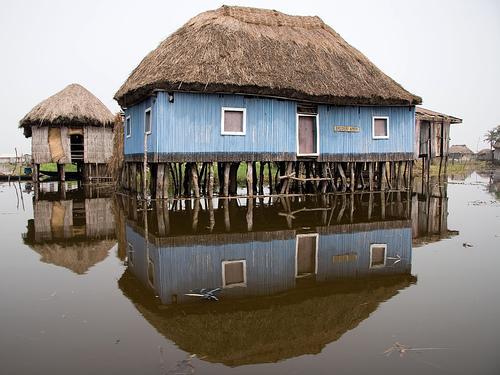 Ganvie village on stilts / Ganvie