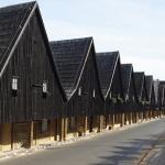Houses of Weavers in Chemsko Slaskie.  / Domy Tkaczy w Chemsko Slaskie.