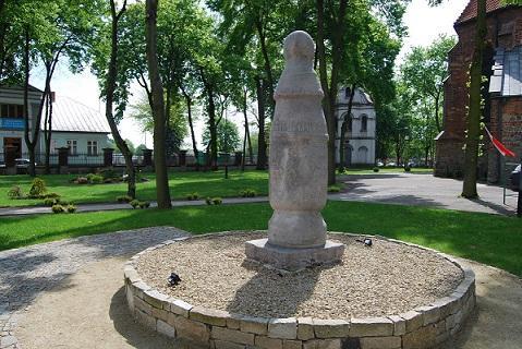 Konin post - the oldest road sign in Central and Eastern Europe in Konin / Najstarszy znak drogowy w Europie Środkowo-Wschodniej w Koninie