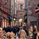 Mercato di Mezzo in Bologna / Bologna - Mercato di Mezzo