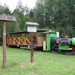 Narrow gauge railway in Hajnowka  / Kolej wąskotorowa w Hajnówce