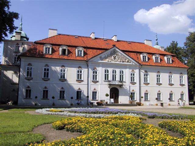 Radziwill Palace and Nieborow garden / Pa�ac Radziwillow i ogr�d w Nieborowie